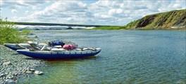 Река Кокпела. Впадение Тумбялавы