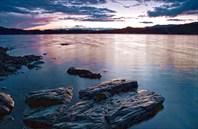 Озеро Караколь-Нуур ночью
