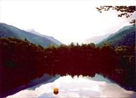 Голубое озеро - август 2002 г.. (c) Галайда