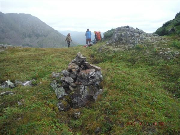 Перевал Ивак/Эектэ, 1700 м