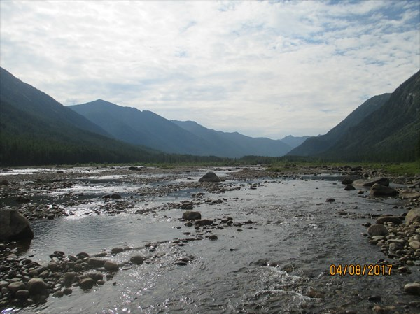 ~5 км выше устья Ивак