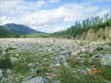 Долина р.Луча в районе впадения р.Амнунда