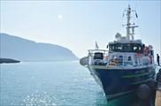 Корабль из Paleochora в Agia Roumeli
