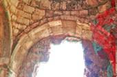 Внутри античного строения