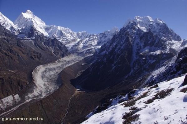 Boktoh и ледник Yamatari