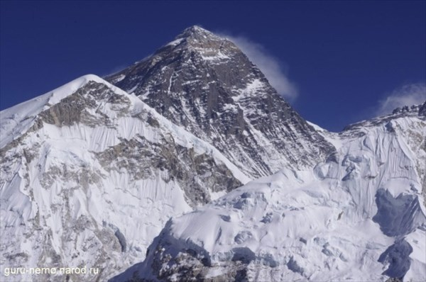 Эверест (Chomolungma или Sagarmatha) (8848 м)