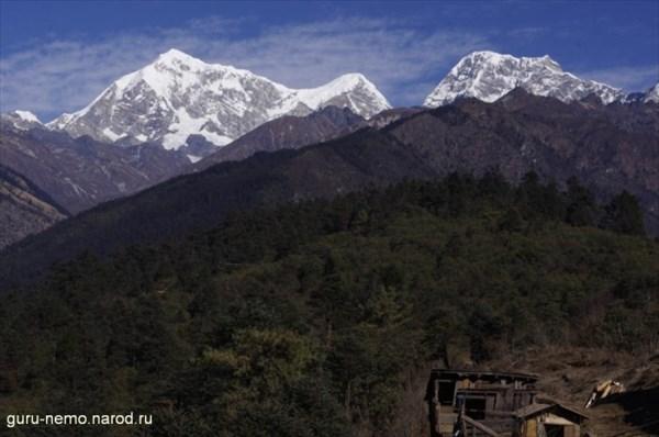 на фото: Горы