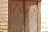 Двери 16 век. Туркмения