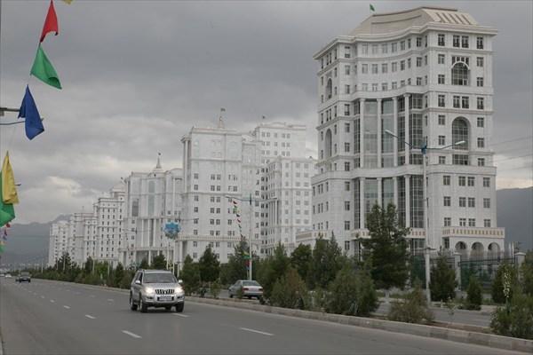 Улицы Ашхабада