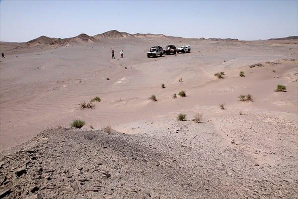 Марсианские пейзажи Даште Лут