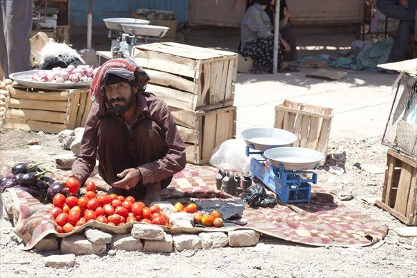 На рынке в Баме