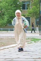 На улицах Нукуса