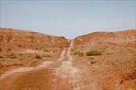 Пустыня может быть красной