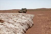 Солевые потоку как ледники
