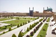 Вид на центральную площадь Исфахана