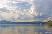 Озеро Тургояк, город Миасс