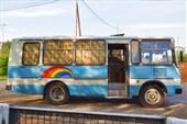 Автобус снаружи