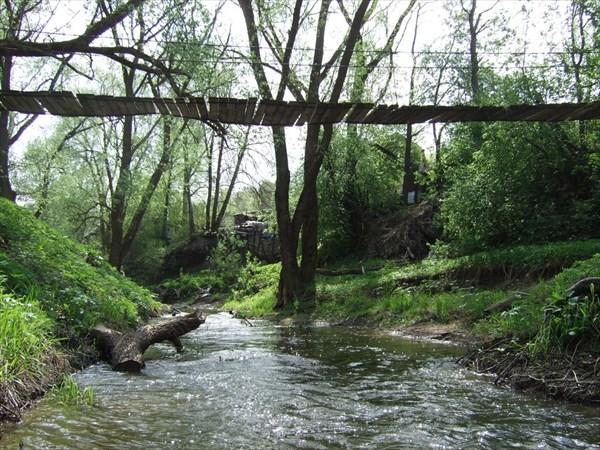 71 дачи. подвесной мост