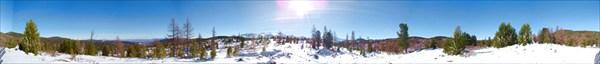 Панарама 360 - Улаганский перевал.