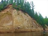 Природные рисунки на скалах