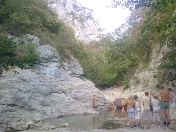 Крымский каньон и ванна молодости