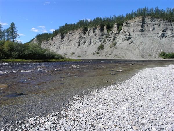 Устье притока Мойерокан