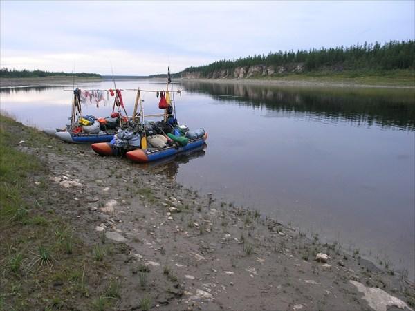 Устье реки Мойеро дальше Котуй