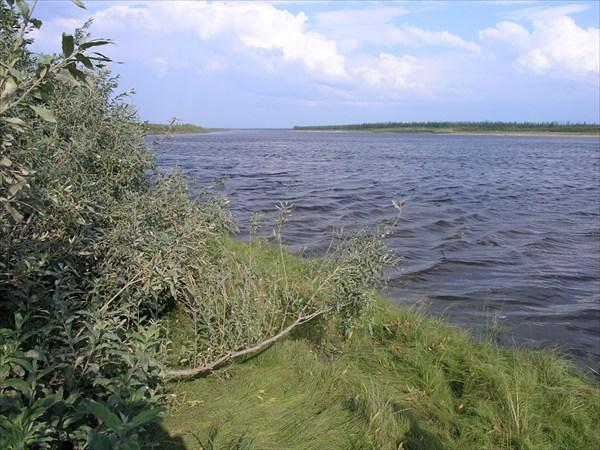 Устье притока Тукалан