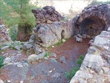 Развалины византийской часовни