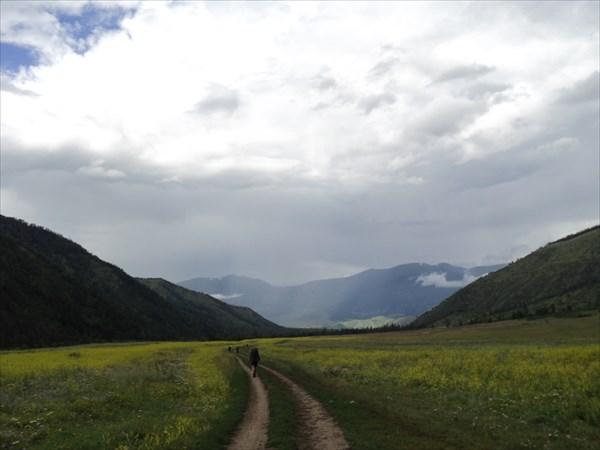 Дорога в Тюнгур