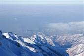 Вид с вершины Амангельды.