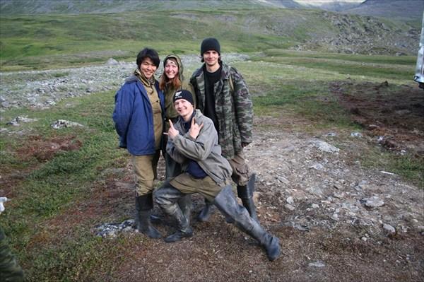 Катя, Джексон, Ник и Влад