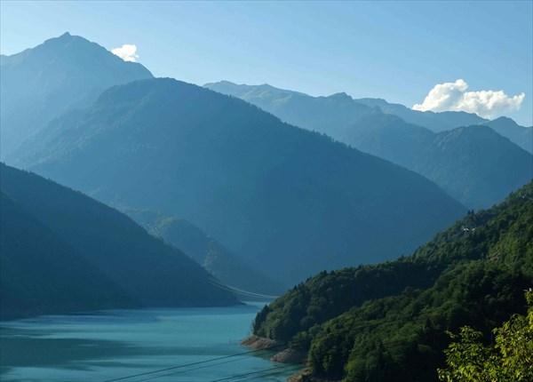Сванети. Ингурское водохранилище