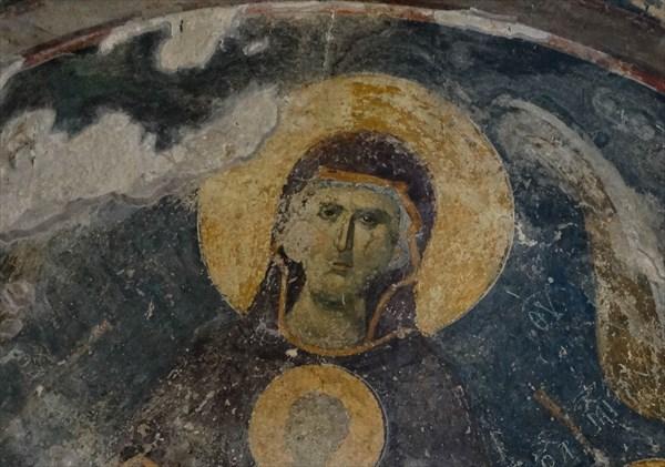 Мартвильский монастырь .Фреска храма.
