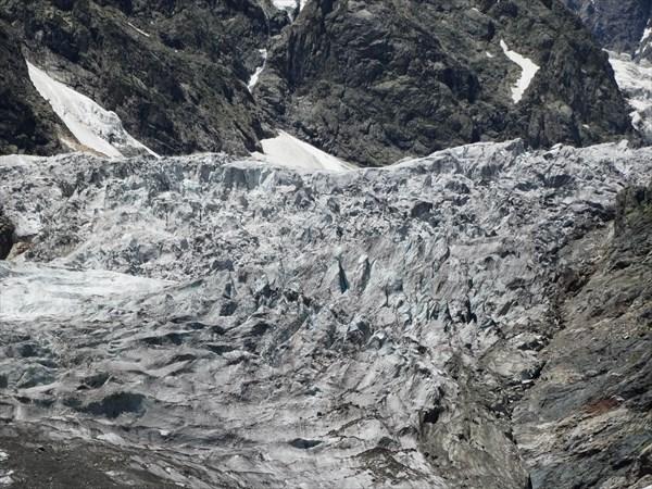 Ледник Чалаади .Сванетия