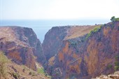 Вид на ущелье Арадены с Агиос Афанасиос