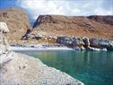 Вид на Мраморную бухту и вход в ущелье Арадены