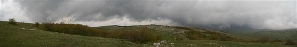 непогода на плато