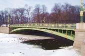 Пантелеймоновский мост через р. Фонтанку.