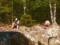 Отдых на камнях