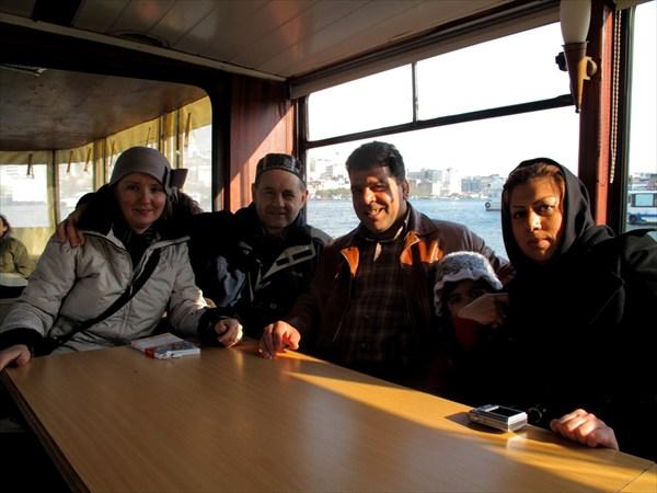 с Маметом и Фатимой из Ирана
