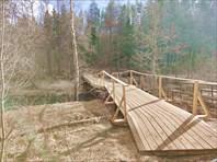 Свежий мост через Волчью.