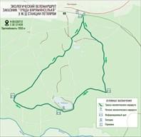 Карта веломаршрута 7 км