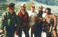 1987 г. дошли до С3-пещера Система им. В.В. Илюхина