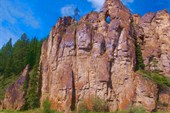 Первые скалы