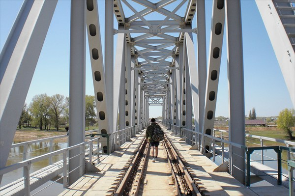 Ахтубинск. Железнодорожный мост