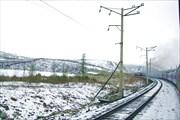 На перевале - снег