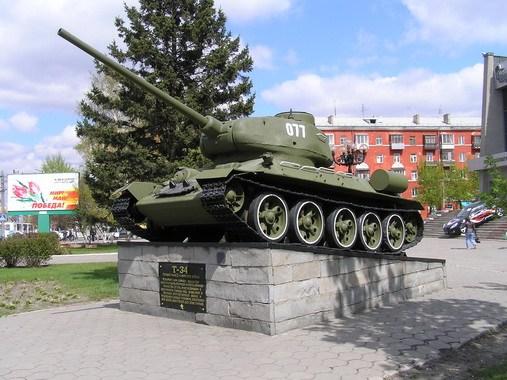 Т-34 у КРК.