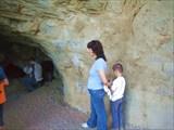 Возле входа в последнюю пещеру