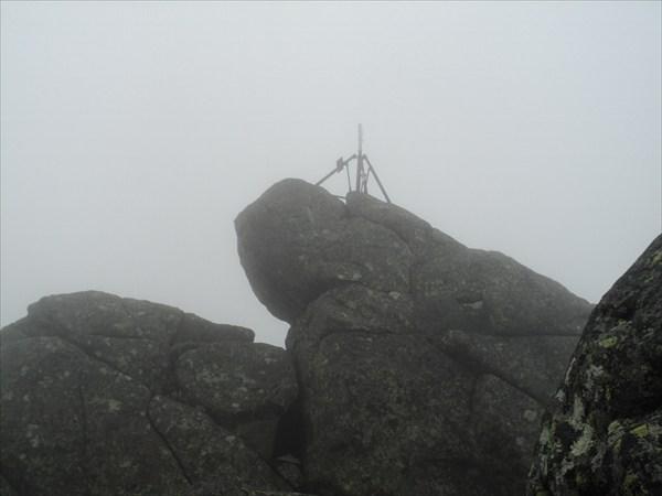 Вершина г.Конжаковский камень 1559метров
